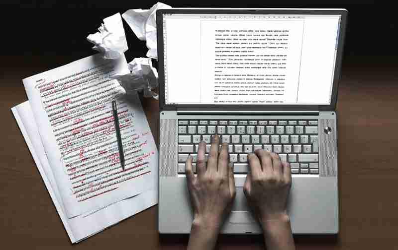 manuscript copyediting